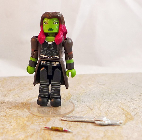 Gamora Partial Loose Minimate (Marvel Walgreens Infinity War Wave 2)