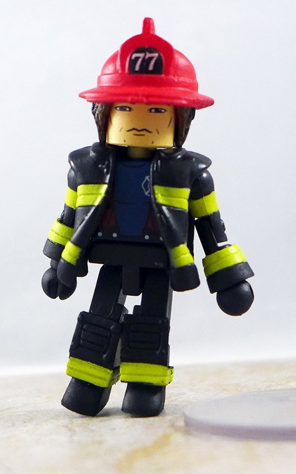Fire Fighter Chief 3 Loose Minimate (Elite Heroes Box Set)