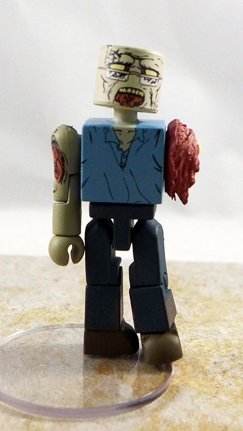 Hitchhicker Zombie Custom Partial Loose Minimate (Walking Dead TRU Wave 5)