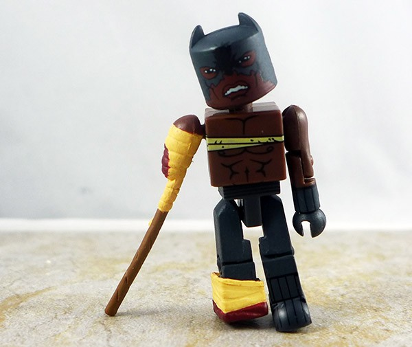 Zombie Attacked Black Panther Loose Minimate (Previews Exclusive)
