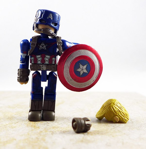 Age of Ultron Captain America Loose Minimate (Marvel Wave 61)