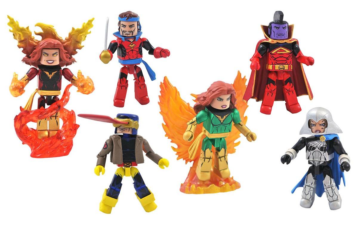 Marvel Minimates Series 81: Dark Phoenix Saga Full Set of 6